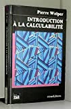 Introduction à la calculabilite