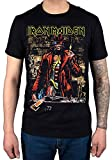Official Iron Maiden Stranger Sepia T-Shirt Black