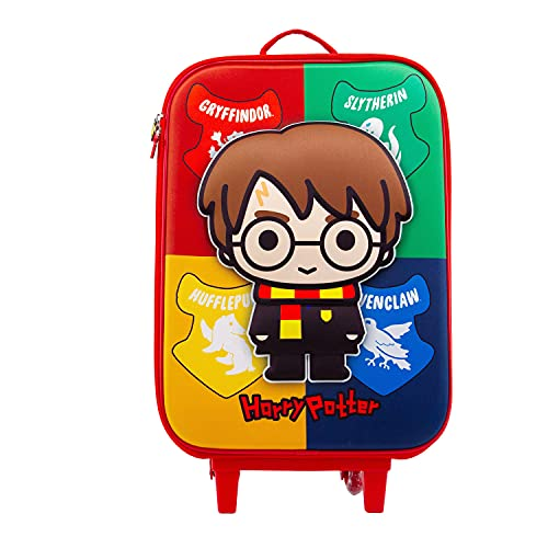 Harry Potter Wizard-Maleta Trolley Soft 3D