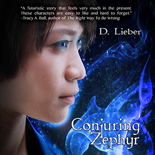 Conjuring Zephyr audiobook cover art