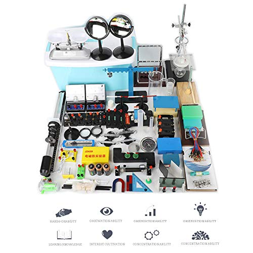 TTSUAI Labor Physikalische Experimentierbox Für Experimentierbox Für Einsteiger Physik-Experimentganzes Set