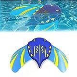 Apofly 1PC Stingray Underwater Glider Swimming Fins Swim Flippers Swimming Pool Toy Self Propelled Adjustable Fins Mini Stingray Underwater Gliders