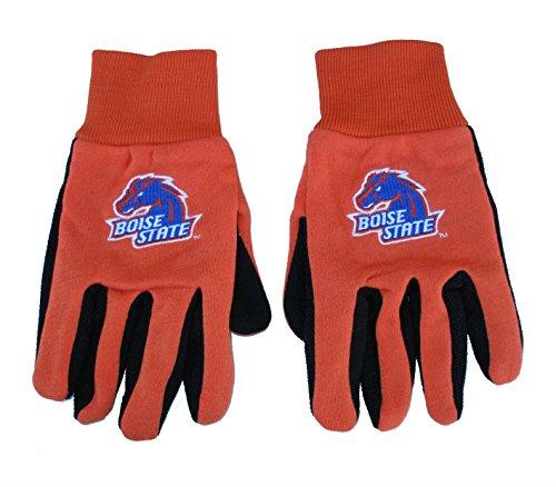 Boise State Broncos OSFM Sport Utility Gloves - Embroidered Logo - Orange / Black