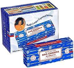 Satya Nag Champa Incense Sticks - 1 Kilo - Bulk Box - 4X 250G - Satya Sai Baba