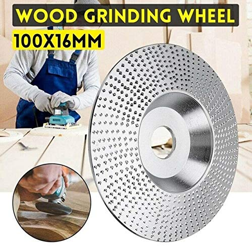 Best Review Of Xucus Tungsten Carbide Wood Sanding Carving Shaping Disc For Angle Grinder Grinding P...