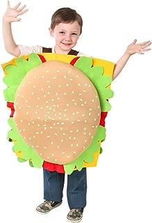 Childs Hamburger Costume, Size Youth Medium 7-10