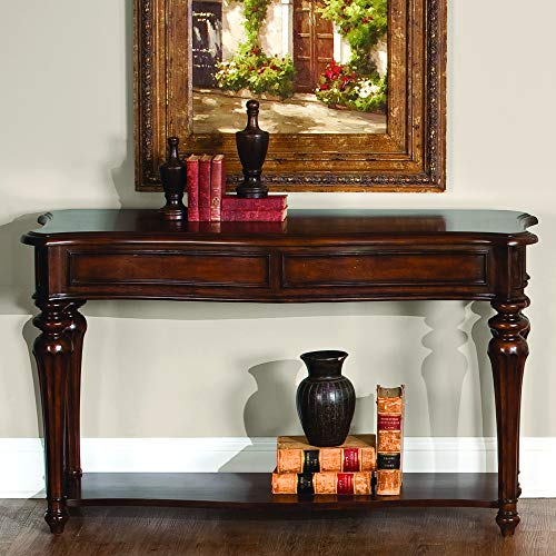 """Liberty Furniture Industries Andalusia Occasional Sofa Table, 50"""" x 18"""" x 30"""", Cherry"""