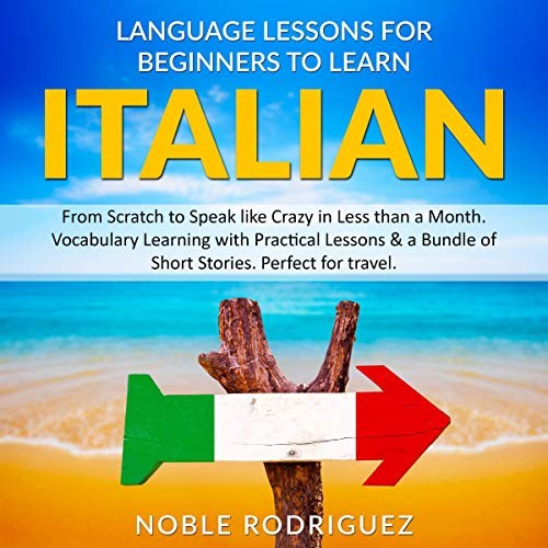 Language Lessons for Beginners to Learn Italian cover art