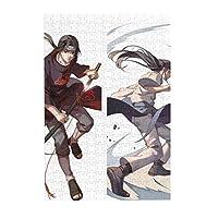 Naruto -ナルト-2 300ピースのアニメーションジグソーパズル、ストレスリリーフおもちゃ、キャラクターフォトパズルゲーム、子供への最高の贈り物(知識教育)