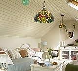 FDA3H Tiffany Pendelleuchte Modernes Design Wohnzimmer Esszimmer Veranda Mediterrane...