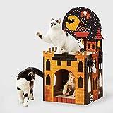 Hyde & EEK! Boutique Halloween Castle Cat Scratcher Double Decker