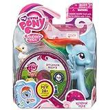 My Little Pony 2012 Figura Rainbow Dash con DVD Maleta