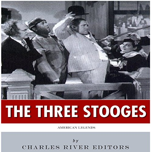 American Legends: The Three Stooges audiobook cover art