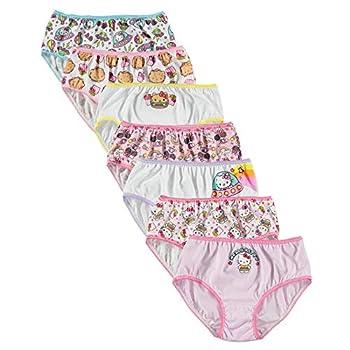 Hello Kitty Girls  Big Underwear Multipacks Food7pk 8