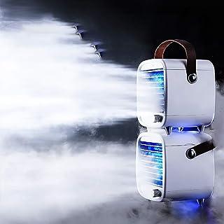 Acondicionador de Aire portátil Ventilador Personal Mini refrigerador de Aire del humidificador pequeño Ventilador del Mini pequeño Aparato de Aire Acondicionado portátil