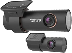 BlackVue DR900S-2CH 16GB 4K 2 Channel Dashcam Black box/Car DVR Recorder, Built in WIFI, Cloud, GPS (Front Camera 8MP, Rear Camera 2.1MP)