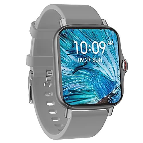 DLBJ Smartwatch, 1.69' Reloj Inteligente Hombre Mujer con Alexa Integrada Pulsómetro Monitor de Oxígeno de Sangre Monitor de Sueño Monitores de Actividad Impermeable 5ATM con Modos Deporte