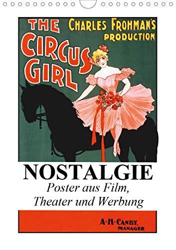 NOSTALGIE Poster aus Film, Theater und Werbung (Wandkalender 2021 DIN A4 hoch)