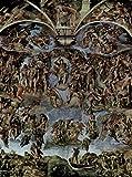 Kunstdrucke Michelangelo Das Jüngste Gericht Fresko