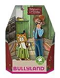 Bullyland 46005 - Spielfigurenset, Pettersson und Findus in Geschenk Box, 2 teilig, liebevoll...