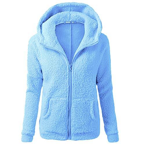 ZHOUZJ Damen Kapuzenpullover Hoodie Pullover Mit Kapuze,Jungen Warm Parka Kleidung Top Outwear,S-5XL,H,M