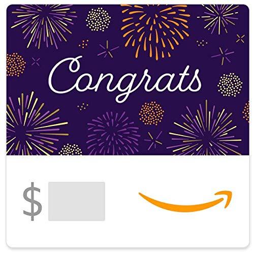 Amazon eGift Card - Congrats (Fireworks)