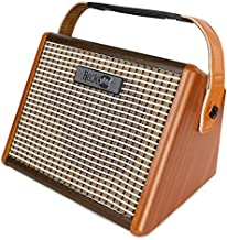 RockJam Bluetooth, rechargeable 15 watt portable guitar amplifier