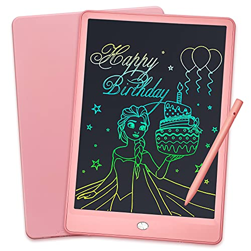 LCD Writing Tablet 10 Inch Colorful Screen Doodle & Drawing Pad,...