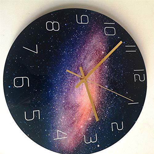 Reloj de Pared Creativo Star Acrílico Moda Diseño Moderno...