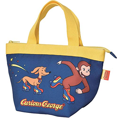 Curious George LIC-0224-25 (24 / roller skating) Lunch bag
