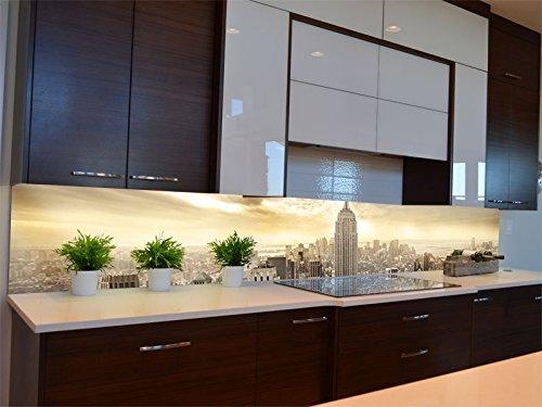 Dalinda® Küchenrückwand Küchenboard Küchenrückseite mit Design New York Skyline View KR058