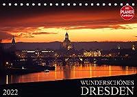 Wunderschoenes Dresden (Tischkalender 2022 DIN A5 quer): Kommen Sie mit auf eine Reise und erleben Sie das wunderschoene Dresden jeden Monat neu. (Geburtstagskalender, 14 Seiten )
