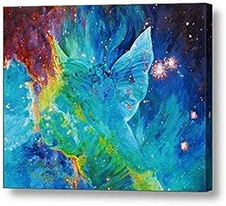 "Galactic Angel - 11.13""H x 14""W Canvas Print"