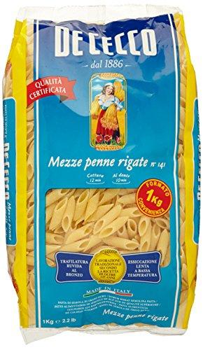De Cecco - Mezze Penne Rigate N.141 - 1 kg
