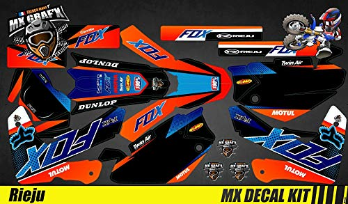 Kit Déco Moto/MX Calcomanías Kit Rieju MRT Pro - Fox