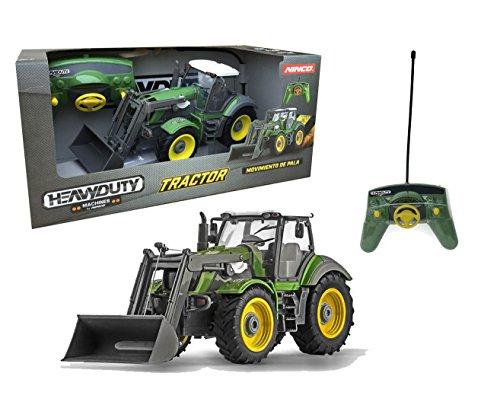 Outletdelocio. Ninco Heavy Duty. Tractor radiocontrol con Pala Excavadora motorizada. 6 Funciones.