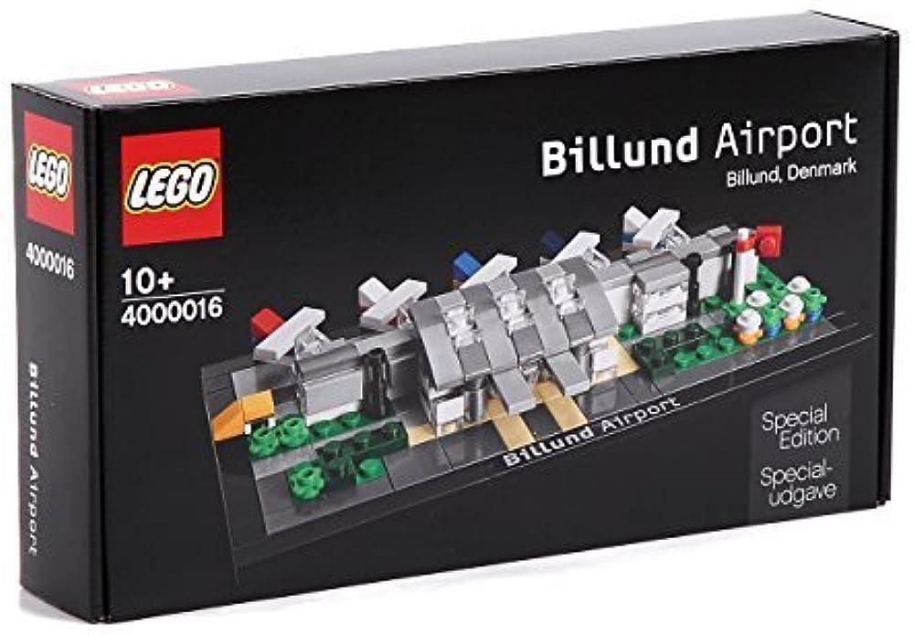 Lego special edition, set dell`aeroporto di billund in danimarca in edizione speciale,per collezionisti 4000016