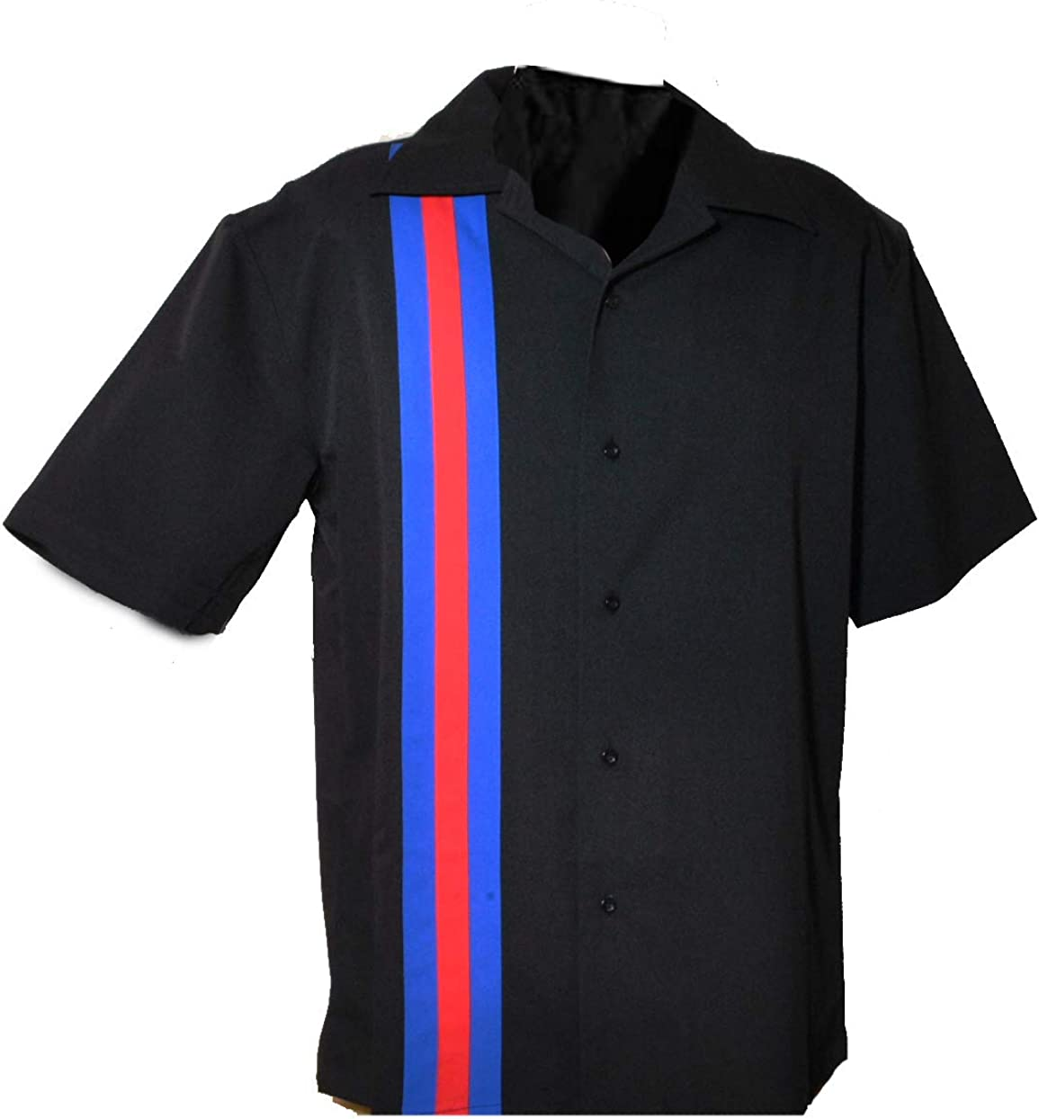 Designs by Max 55% Translated OFF Attila Mens Leisure Shirt Bowling Big 50's Style.