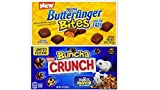 Movie Theater Candy Variety Bundle (Pack of 6) includes 3-boxes Butterfinger Bites, 3.5 oz + 3-boxes Nestle Buncha Crunch, 3.2 oz