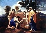 Art Oyster Nicolas Poussin Et in Arcadia Ego...
