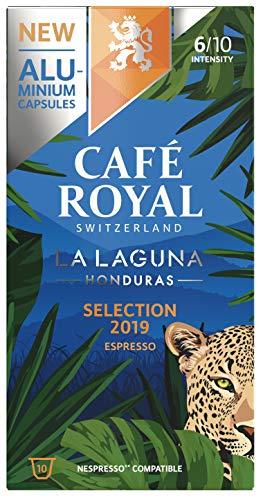Café Royal La Laguna Honduras 100 Nespresso®* kompatible Kapseln (aus Aluminium, Intensität 4/10) 10er Pack (10 x 10 Kaffeekapseln)