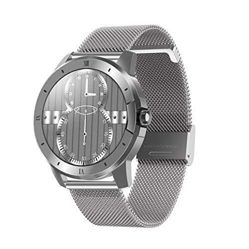 LHL MX12 Smartwatch, Reproductor De Música A Prueba De Agua IP68, Ritmo Cardíaco Y Monitor De Presión Arterial para Hombres Y Mujeres, Reloj Inteligente De Llamadas Bluetooth,A