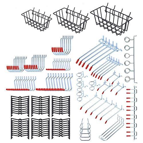 Huante - Kit de organizador de accesorios para panel perforado, accesorio de...