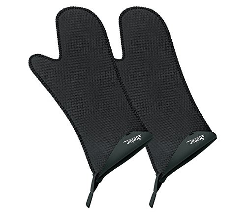 Spring 2094065102 Grips Handschuh lang 1 Paar, Stoff, schwarz, 5 x 17,2 x 18,8 cm