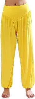 Womens Modal Cotton Soft Yoga Sports Dance Harem Pants