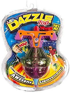 Dazzle Top Light Up LED Spinning Toy Top