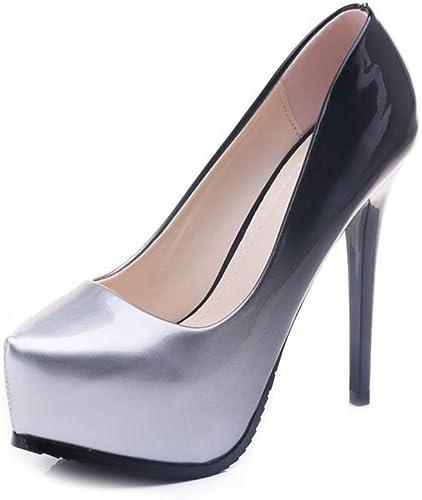 Yanyan Chaussures Mode pour Femmes - Bouche Peu Profonde - Talons Hauts - Chaussures de soirée habillées - Mariage