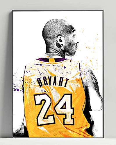 Kobe Bryant Limited Poster Artwork - Professional Wall Art Merchandise (More Sizes Available) (16x20)