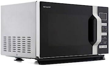 SHARP Horno de microondas de 23 litros de Capacidad Plata 900 w