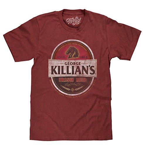 George Killian's Beer T-Shirt - Killians Irish Red Premium Lager Shirt (XXX-Large)